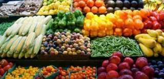تعرف على أسعار الخضراوات والفاكهة بسوق الجملة