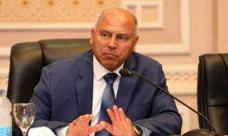 وزير النقل يتابع الموقف التنفيذى لمشروعات هيئة الموانئ البرية و الجافة