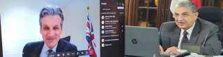 تفاصيل لقاء وزير الكهرباء بسفير بريطانيا في القاهرة عبر الفيديو كونفراس