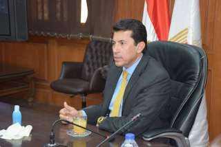 وزير الرياضة يطلق مبادرة ضد التحرش