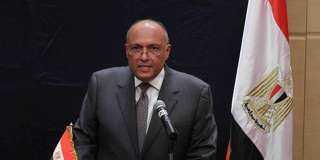 وزير الخارجية يتوجه إلى الرياض لترأس لجنة التشاور السياسى بين مصر والسعودية