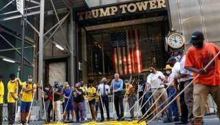 حياة السود مهمة.. الأمريكيون يطاردون ترامب أمام برجه الشهير