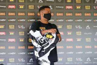 أتليتكو مينيرو يقدم كينو لاعباً للفريق رسمياً في مؤتمر صحفي