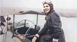 حكايات مثيرة عن أول إمرأة تحصل على لقب كابتن طيار فى مصر وأفريقيا