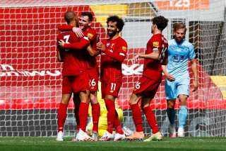 ليفربول ضد بيرنلي.. الريدز يتقدم بالهدف الأول عن طريق روبرتسون