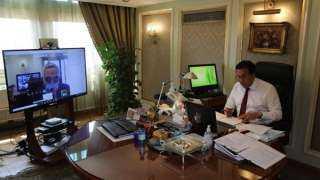 وزير التعليم العالي يبحث مع سفير العراق تعزيز التعاون العلمي