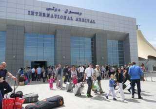 مطار الغردقة يستقبل أولى الرحلات البلغارية عقب استئناف الحركة الجوية