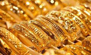إرتفاع أسعار الذهب فى ختام تعاملات اليوم