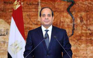 عاجل ..رسائل مؤثرة من الرئيس السيسي إلي شعب لبنان