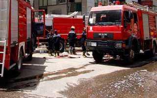 الحماية المدنية تسيطر على حريق بمستشفى الإسكندرية الدولي دون إصابات
