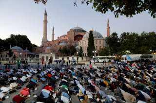 هل حقق أردوغان هددفه بزيادة شعبيته بعد تحويل آيا صوفيا إلى مسجد؟