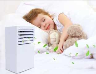 ما هي الطريقة الصحية لنوم طفلك في التكييف والمراوح؟.. تعرفي عليها