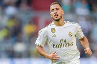 هازارد يثير الإحباط بين لاعبي ريال مدريد