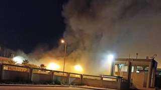نبأ عاجل .. حريق هائل فى سوق بالإمارات