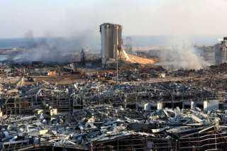 «بيروت حزينة».. تعرف على الصور الأعلى مشاهدة لآثار الدمار بعد الانفجار