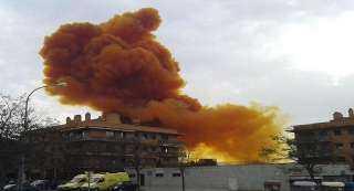 إنفجار صومعة الحبوب ببيروت يهدد الأمن الغذائى فى لبنان