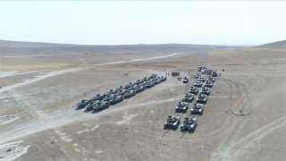 الجيش التركي يواصل المناورة المشتركة مع القوات الأذربيجانية