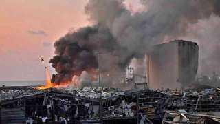 عاجل..آخر حصيلة لضحايا انفجار مرفأ بيروت