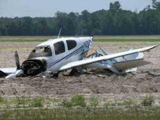 وفاة شخصين إثر سقوط طائرة بمهبط مطار الجونة