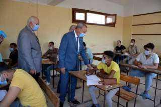 انتظام سير امتحانات الدبلومات الفنية في القاهرة