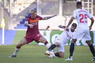 أشبيلية يتأهل لربعنهائي الدوري الأوروبي على حساب روما
