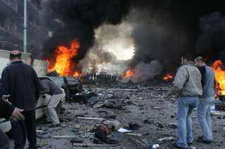تشييع جثامين 3 ضحايا مصريين فى انفجار لبنان بمسقط رأسهم بالغربية