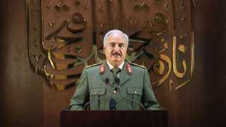 سرى للغاية.. كواليس لقاء المشير خليفة حفتر وضباط غُرف العمليات بالجيش الليبي