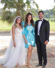 بالصور.. هند عبد الحليم تحتفل بزفافها على شاب من خارج الوسط الفني