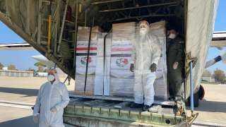الشحنة الثالثة من الإغاثة المصرية تصل لبنان