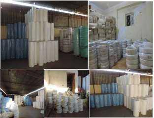 ضبط مخزن بالقليوبية بداخله 70 طن  تستخدم فى تصنيع الكمامات المقلدة