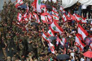 عاجل.. الجيش اللبنانى يُعلن عدد الإصابات فى صفوف العسكريين جراء احتجاجات بيروت