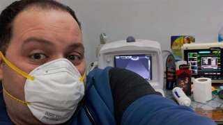 وفاة طبيب بمستشفى كفرالزيات إثر إصابته بكورونا