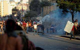 هدوء في وسط بيروت بعد اشتباكات عنيفة بين المحتجين والأمن اللبناني