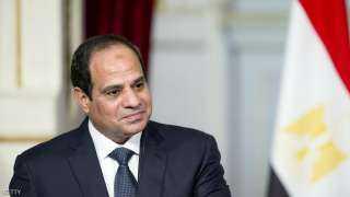 الرئيس السيسي يدلي بصوته فى انتخابات الشيوخ بمصر الجديدة