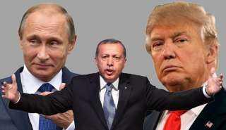 عاجل ولأول مرة.. ترامب وبوتين يتفقان علي طرد أردوغان من ليبيا