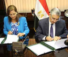 وزير الكهرباء يوقع بروتوكول للتعاون المشترك بين القطاع وصندوق مصر السيادى