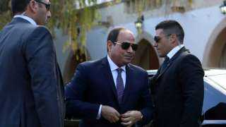 """رسالة السيسي.. أول زعيم عربي يعلق علي اتفاقية  وقف  """"خطة الضم الإسرائيلية """""""