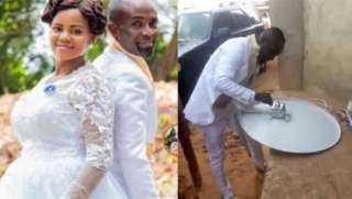 عريس يترك عروسه في يوم الزفاف والسبب: غريب