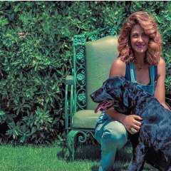 """هيدى كرم تودع كلبتها """"ليلى"""" بكلمات مؤثرة: هتوحشيني يا بنتي وصحبتي"""
