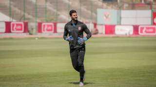 ميشيل يقود تدريبات الحراس استعدادا لمواجهة نادي مصر