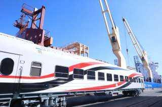 السكة الحديد تستقبل دفعة من العربات المكيفة الجديدة