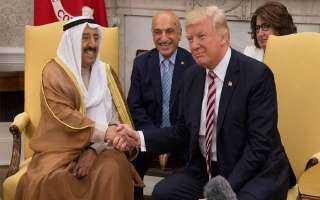 البيت الأبيض: ترامب سيمنح أمير الكويت وسام الاستحقاق الأمريكي