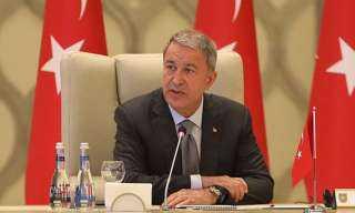 وقاحة تركية.. تفاصيل تطاول «وزير الدفاع التركي» على ماكرون