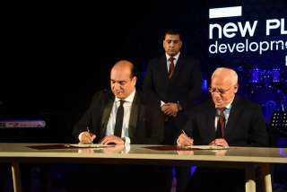 """"""" نيوبلان """" للتطوير العقارى توقع بروتوكولا  لتطوير """" ساحة مصر """"  بمحافظة بورسعيد"""