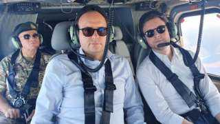 عاجل وخطير.. وزيران فرنسي وقبرصي يُحلقان بمروحية فوق سفينة «يافوز» التركية