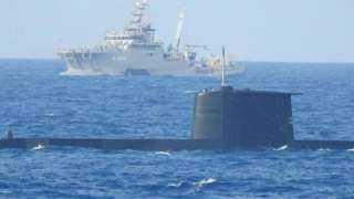بالصور.. البحرية التركية تُجري مناورات تدريبية بالقرب من مدينة إزمير