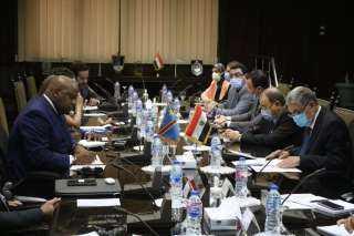 ننشر كواليس لقاء وزير الكهرباء بوفد رفيع المستوى برئاسة مستشار الرئيس الكونغولي