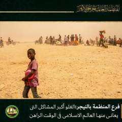 واعظ أزهري بالنيجر :  الغلو أكبر المشاكل التى يعانى منها العالم الإسلامى فى الوقت الراهن