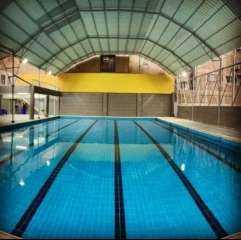 """صور .. """"الشباب والرياضة"""" بالجيزة تفتتح حمام سباحة نصف أوليمبي بمركز شباب السلام"""