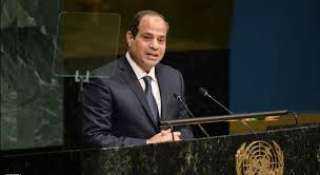 السيسي : الحل السياسي للأزمة السورية أمر ملح .. ولابد من وقفة حاسمة لإهاء أزمة اليمن